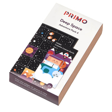 Primo Space Map and story book