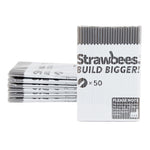Strawbees Construction Pipes  - Grey