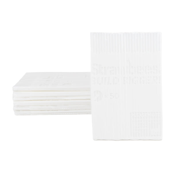Strawbees Construction Pipes  - White