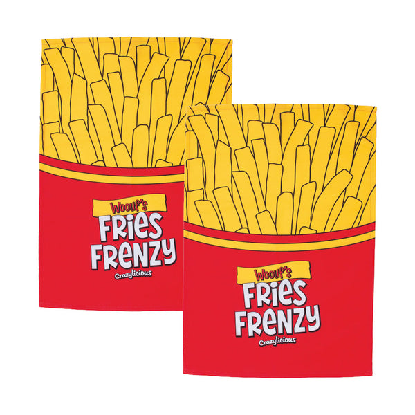 Woouf Tea Towel Fries - 2pk