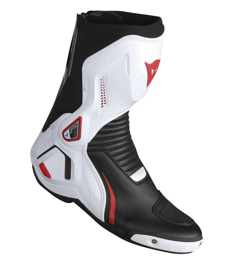 COURSE D1 OUT DAINESE Stivali Racing nero bianco rosso 1795208 A66
