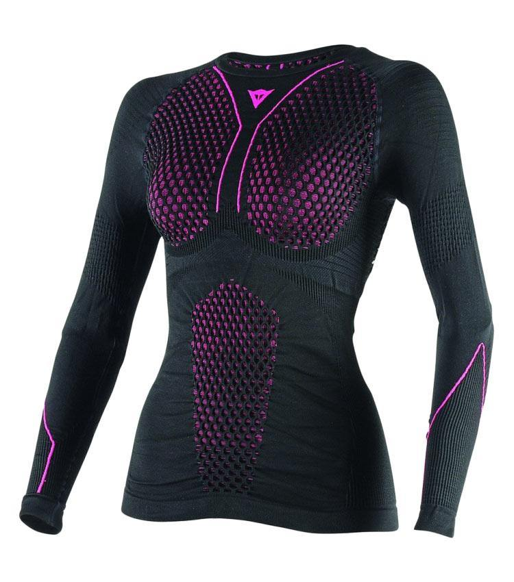 dainese-d-core-thermo-tee-ls-lady-nero-fuchsia