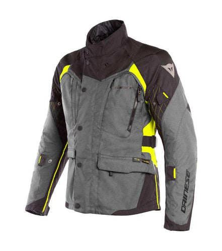 X-TOURER D-DRY DAINESE Giacca 3 Strati nero antracite giallo 1654609 Z97 - [product_collection] - Motoland-Ferrara