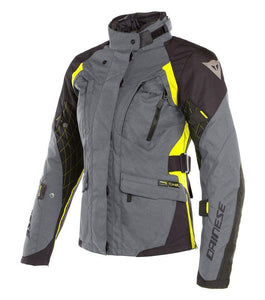 X-TOURER LADY D-DRY DAINESE Giacca donna 3 Strati nero antracite giallo 2654609 Z97 - [product_collection] - Motoland-Ferrara