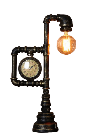 Lampe Industrielle Sur Pied - Decoration Industrielle