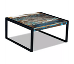 Table Basse Industrielle 80 cm - Decoration Industrielle