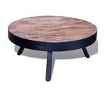 Table Basse Industrielle <br> Table Loft en Métal