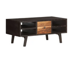 Table Basse Style Industriel Noir - Decoration Industrielle