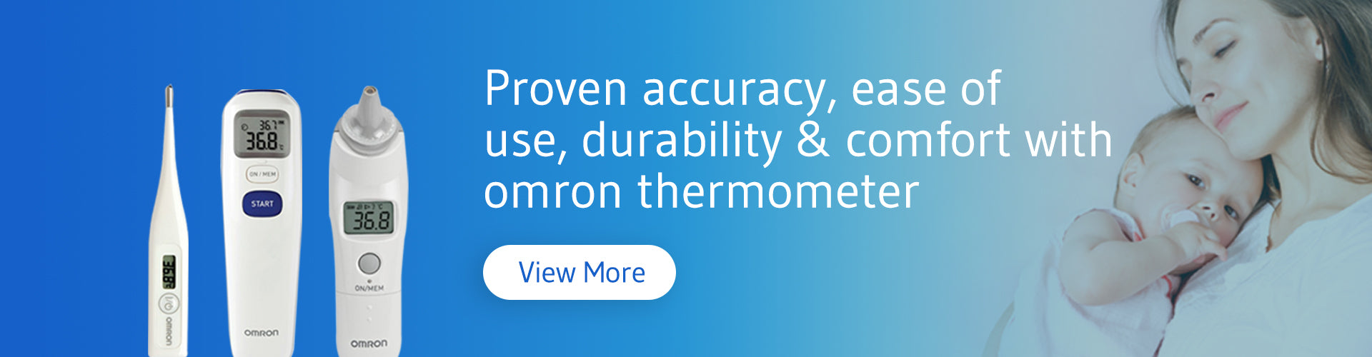 Thermometer | Omron Healthcare	Brand Shop