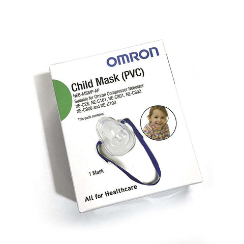 Child Mask (PVC) For NE-C101 & NE-U100  [NEB-MSMP-AP]