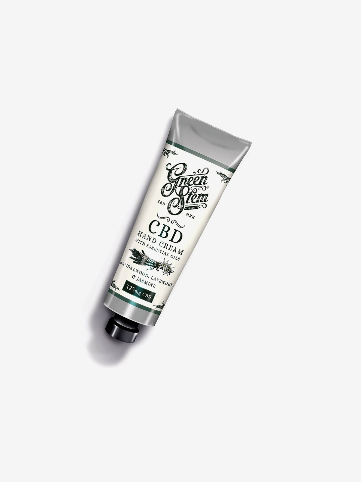 Green Stem Hand Cream Sandalwood, Lavender & Jasmine 75ml