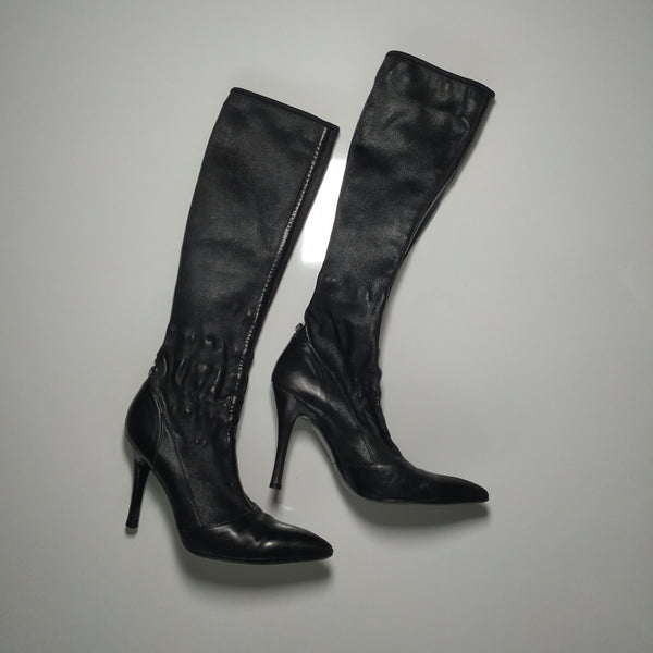 Gianni Versace leather boots