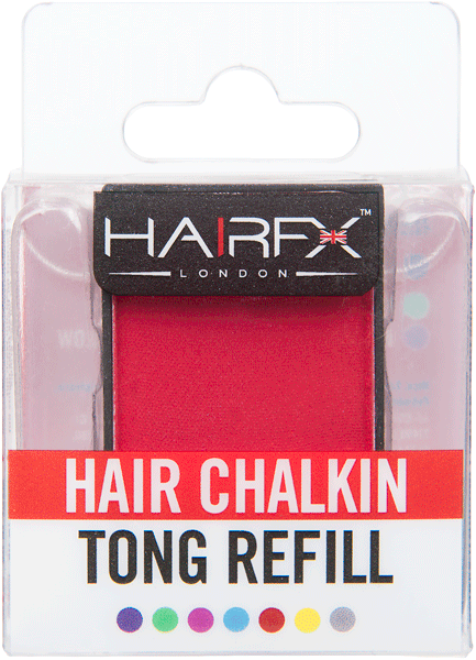 Pro Tong Replacement Head - Racy Red