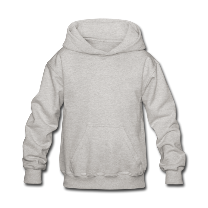 Hoodie For kids - heather gray