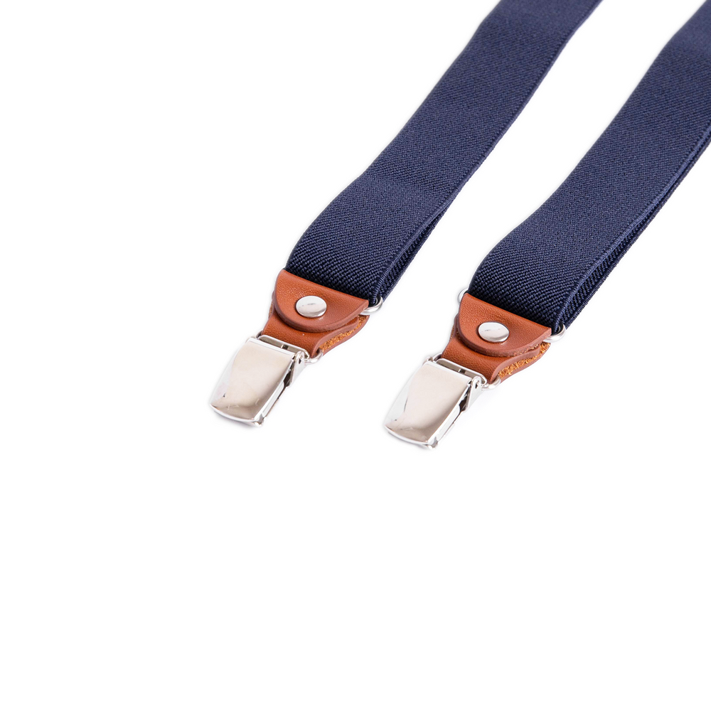 Men's Navy Suspenders