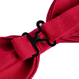 Red Bow Tie - Pre-Tied