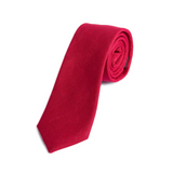 Red Skinny Tie - 2in