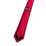 Red Skinny Tie + Gift Box