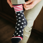 USA American Flag Groomsmen Socks by Groomsman Gear
