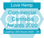Love Hemp named UK's leading CBD Brand 2020 by GHP