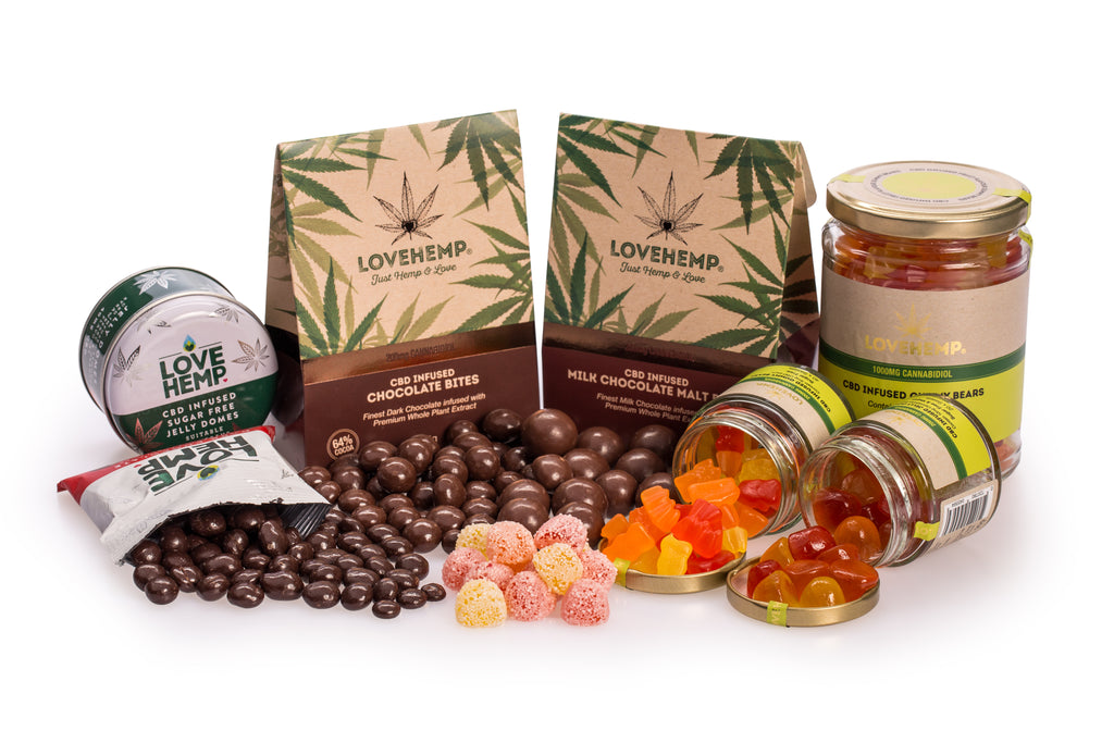 Our growing range of CBD edibles