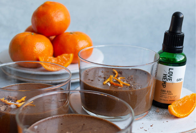 Recipe: CBD Infused Orange Chocolate Mousse