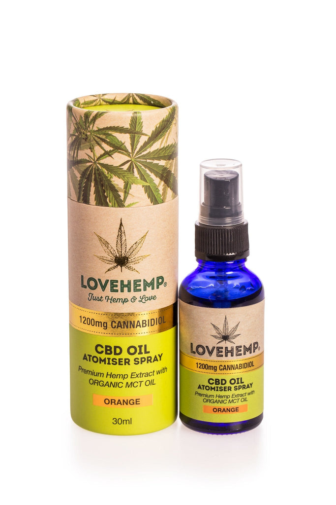 Love Hemp CBD Oil Spray - 30ml 1200mg - Love Hemp UK
