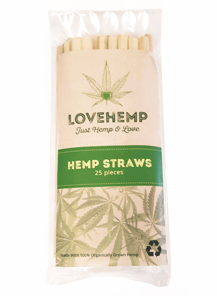 Love Hemp Hemp Straws - Love Hemp UK