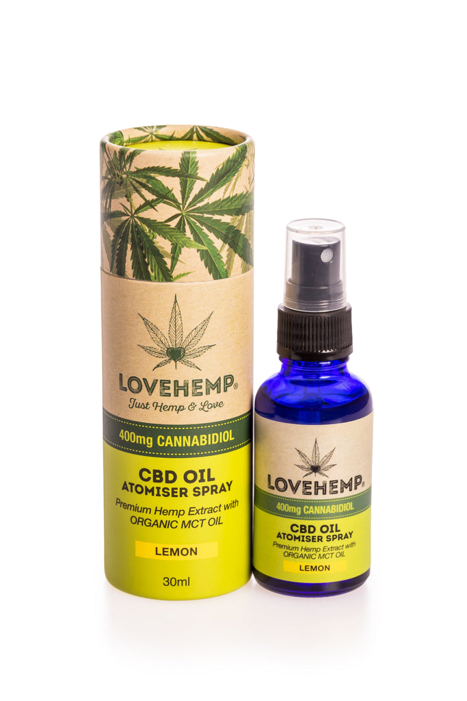 Love Hemp CBD Oil Spray - 30ml 400mg - Love Hemp UK