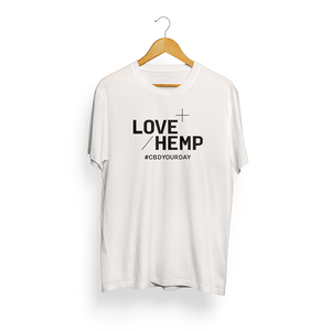 Love Hemp - Short Sleeve T Shirt - Love Hemp UK