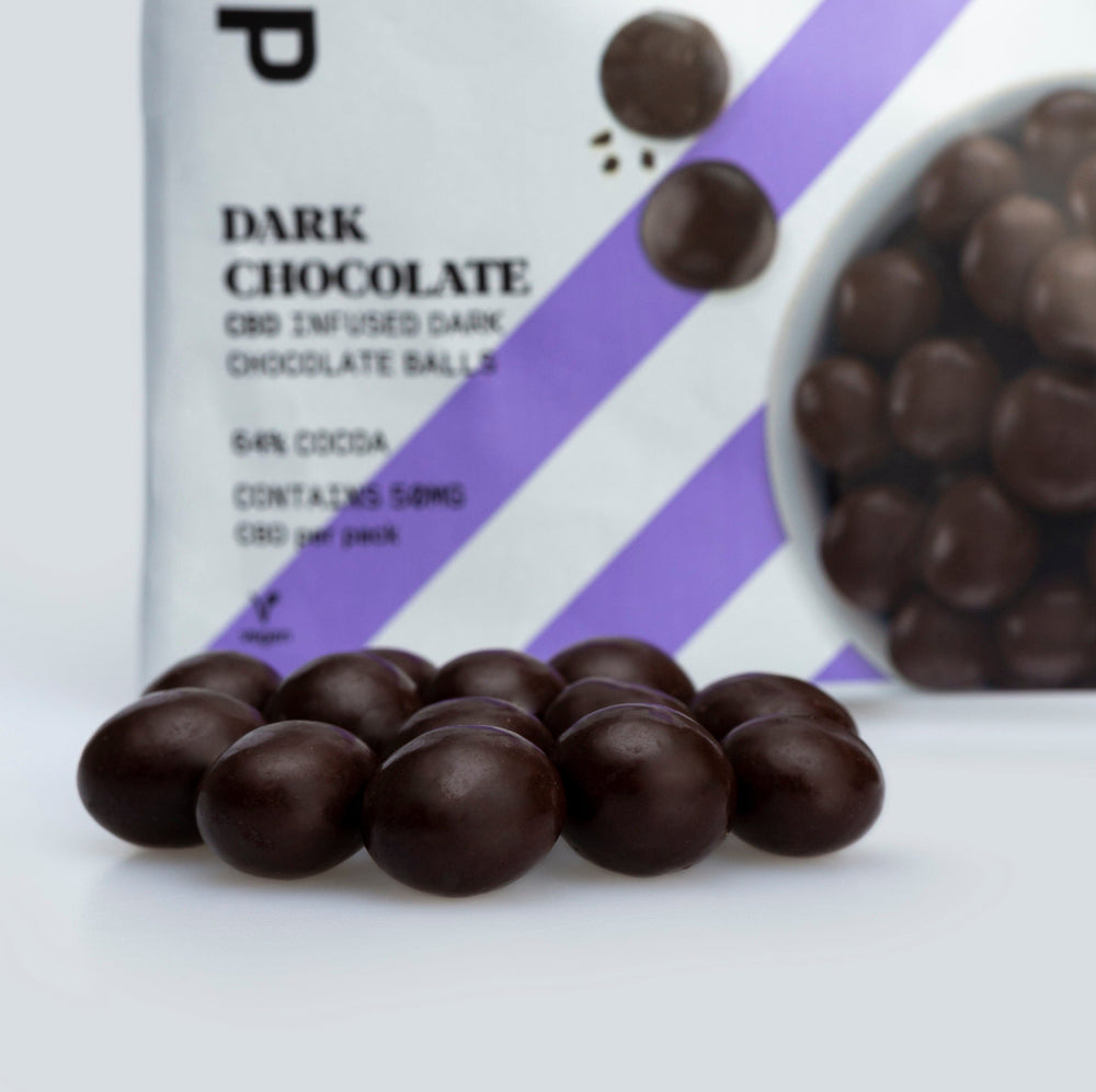 Love Hemp® CBD Dark Chocolate Balls - 50mg CBD