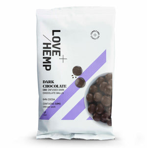 Load image into Gallery viewer, Love Hemp® CBD Dark Chocolate Balls - 50mg CBD