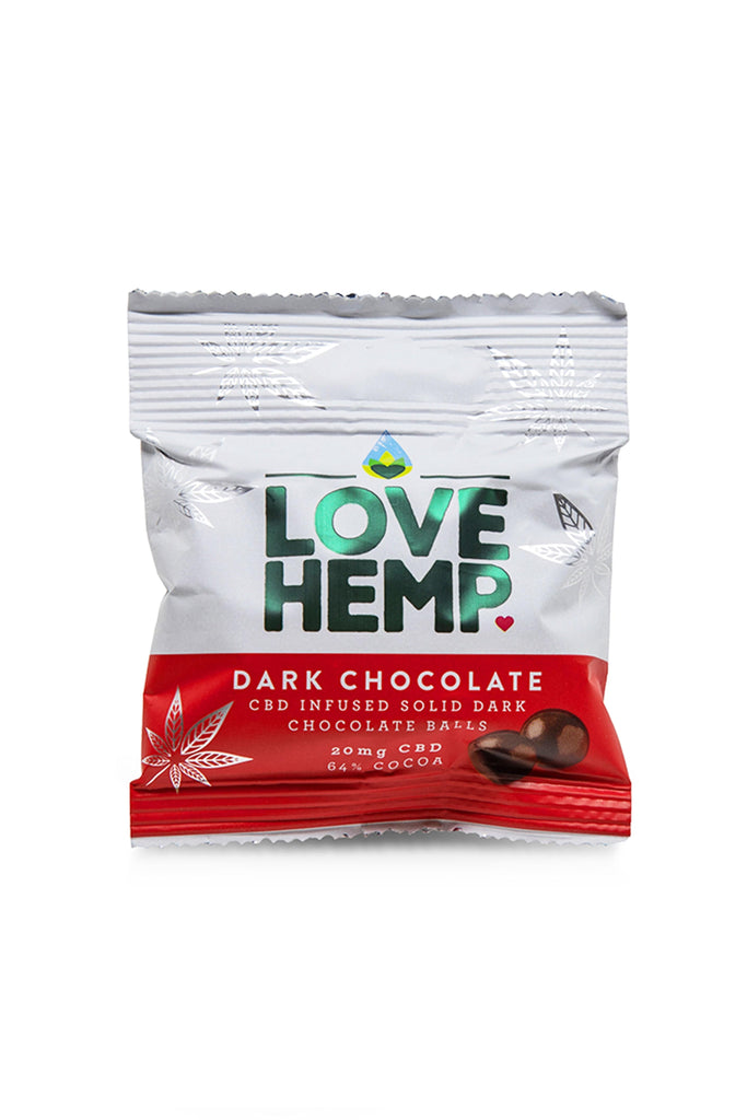 Love Hemp CBD Chocolate Bites - 20mg CBD - Love Hemp UK