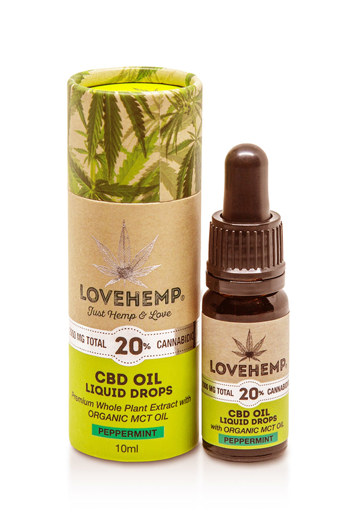Love Hemp CBD Oil 10ml - 20% (2,000mg CBD) - Love Hemp UK