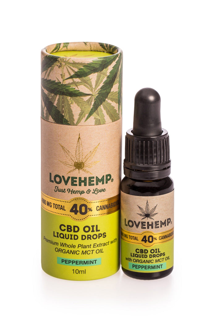 Love Hemp CBD Oil 10ml - 40% (4,000mg CBD) - Love Hemp UK