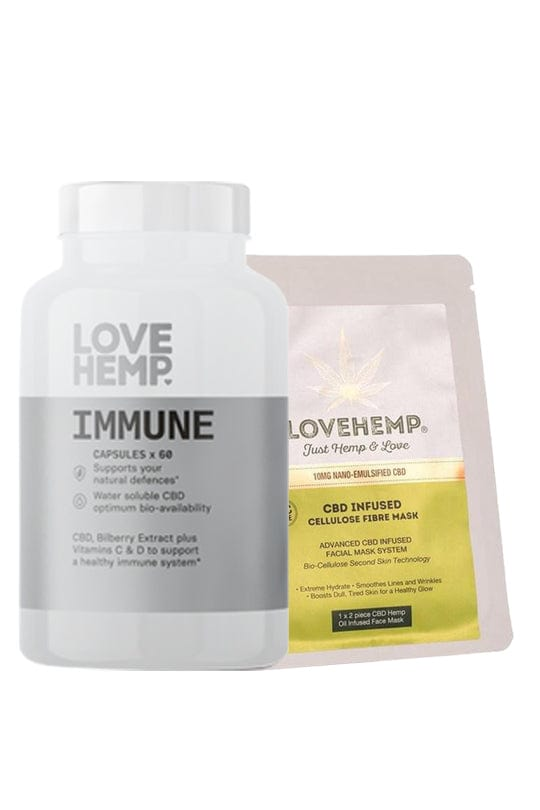 Love Hemp® Self-Care CBD Bundle - Love Hemp UK