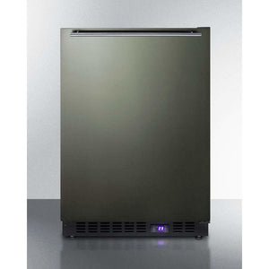 "Summit  24"" Wide Built-In All-Freezer With Icemaker SCFF53BXKSHHIM - Bennet Hill"