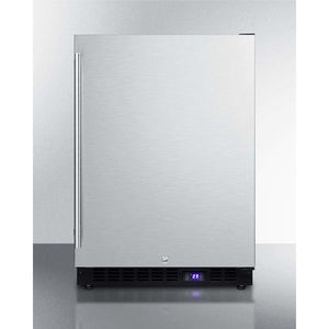 "Summit 24"" Wide Built-In All-Freezer With Icemaker SCFF53BSSIM - Bennet Hill"