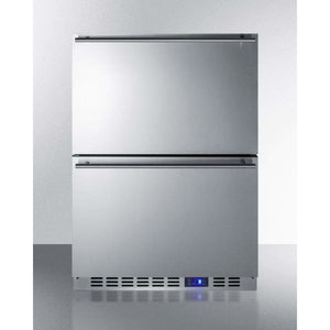 "Summit 24"" Wide 2-Drawer All-Freezer SCFF532D - Bennet Hill"