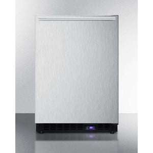 "Summit  24"" Wide Built-In All-Freezer With Icemaker SCFF53BXSSHHIM - Bennet Hill"