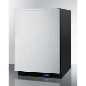 "Summit  24"" Wide Built-In All-Freezer With Icemaker SCFF53BXSSHH - Bennet Hill"