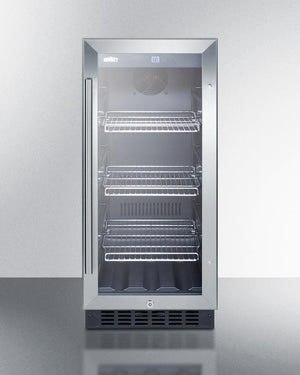 """Summit 15"" Wide Built-In Beverage Center (SCR1536BG) - Bennet Hill"