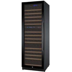 "24"" Wide FlexCount Series 172 Bottle Dual Zone Black Left Hinge Wine Refrigerator (VSWR172-2BWLN) - Bennet Hill"