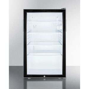 "Summit 19"" Wide Beverage Center SCR486L - Bennet Hill"