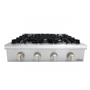 THOR 30 Inch Professional Gas Rangetop in Stainless Steel ( HRT3003U ) - Bennet Hill