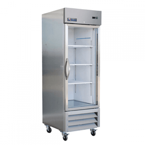 "Ikon IB27FG 27"" 1 Glass Door Reach-in Freezer - Bennet Hill"
