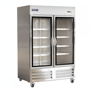 IKON IB54RG Double Glass Door Reach-In Refrigerator - Bottom Mount - Bennet Hill