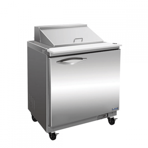 "IKON ISP29 29"" 1-Section Refrigerated Sandwich Prep Table - Bennet Hill"