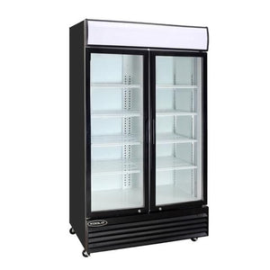 Kool-It KGM-50 Glass Door Merchandiser Refrigerator - Bennet Hill