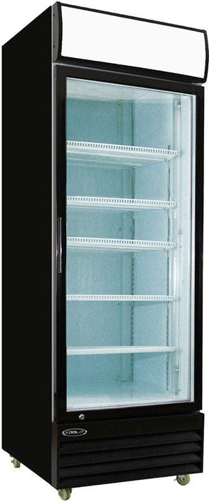 "Kool-It KGM-23 27"" 1 Swing Glass Door Merchandiser Refrigerator - Bennet Hill"